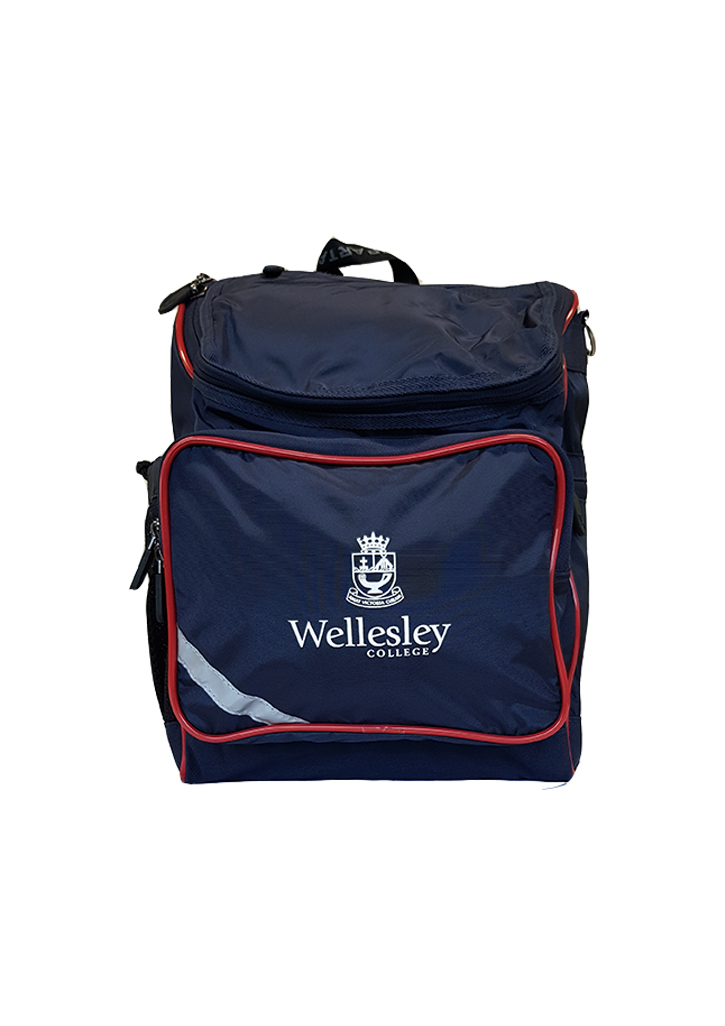 Wellesley College Backpack School Bag